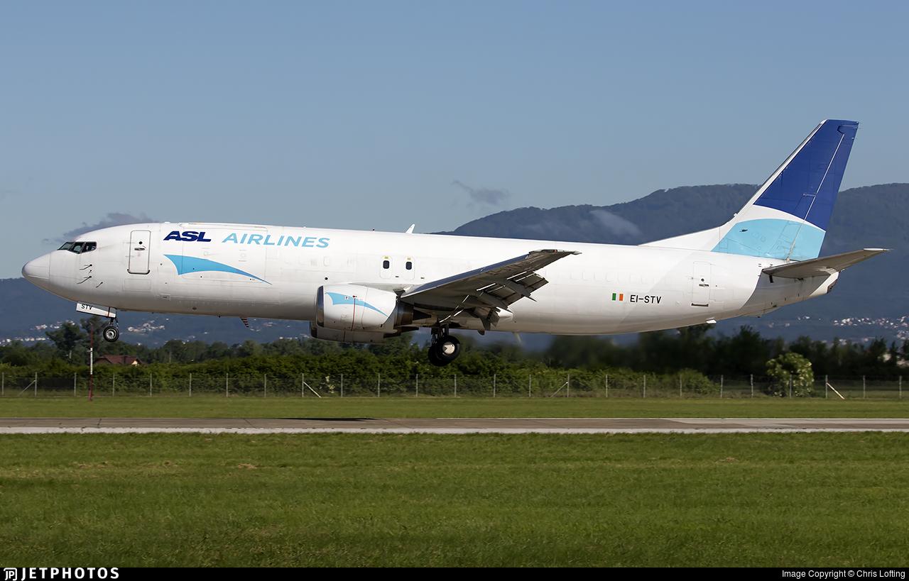 EI-STV - Boeing 737-43Q(SF) - ASL Airlines