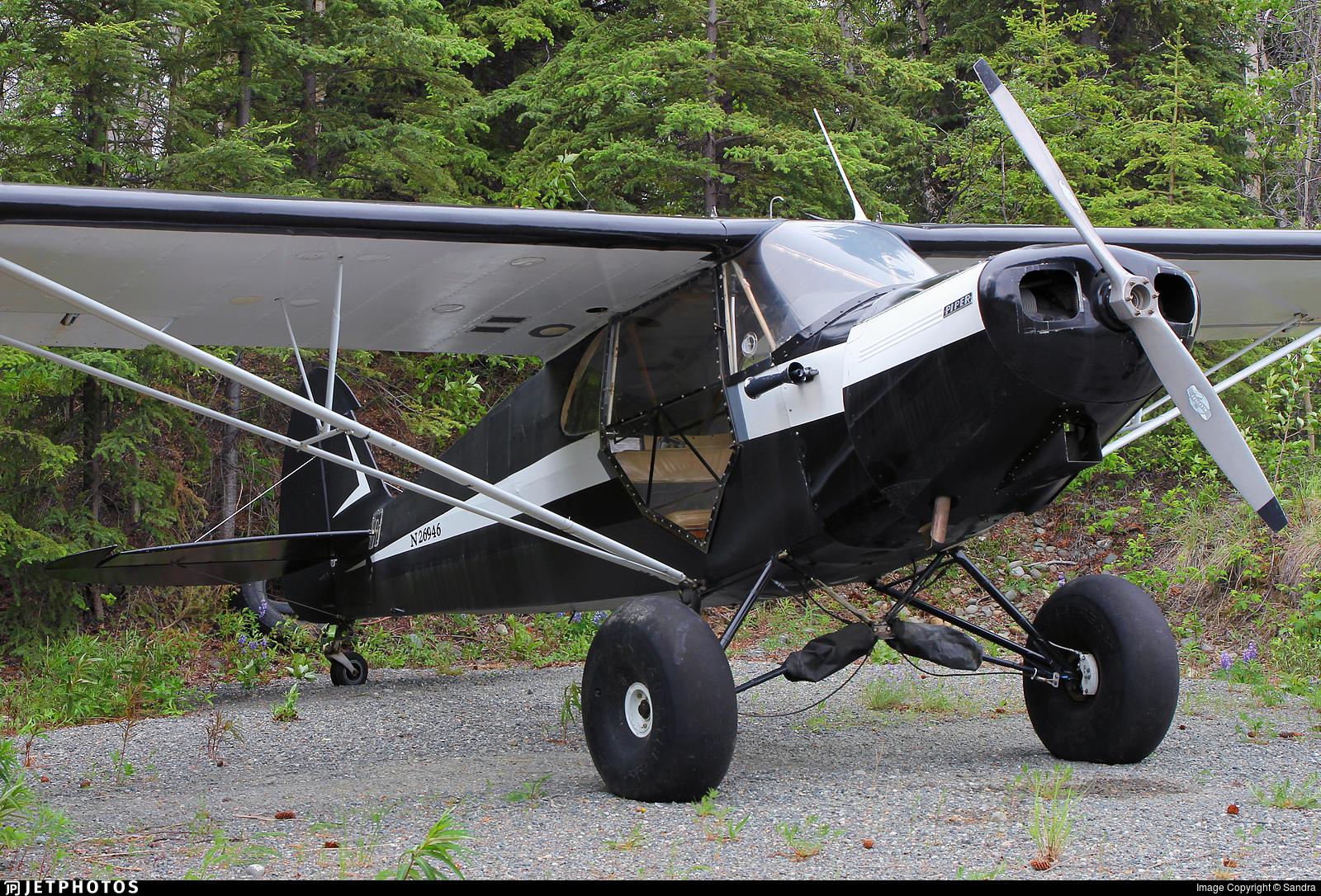 N26946 - Piper J-5A Cub Cruiser - Private