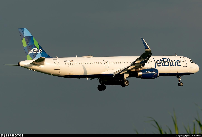 N994JL - Airbus A321-231 - jetBlue Airways