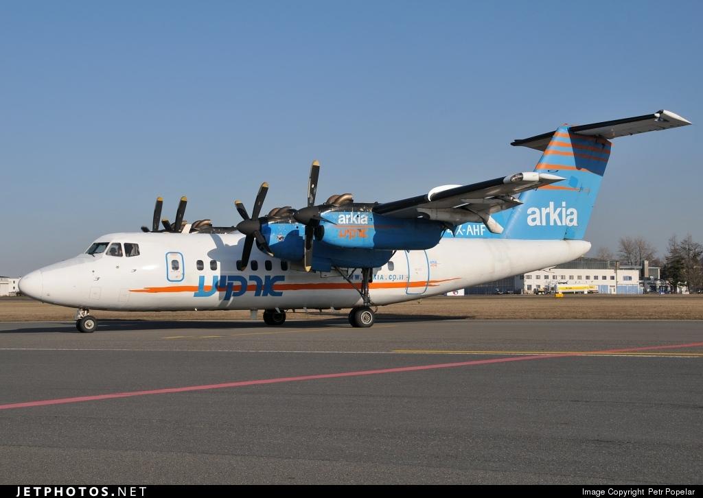 4X-AHF - De Havilland Canada DHC-7-102 Dash 7 - Arkia Israeli Airlines