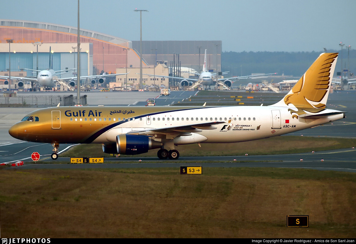 A9C-AM - Airbus A320-214 - Gulf Air