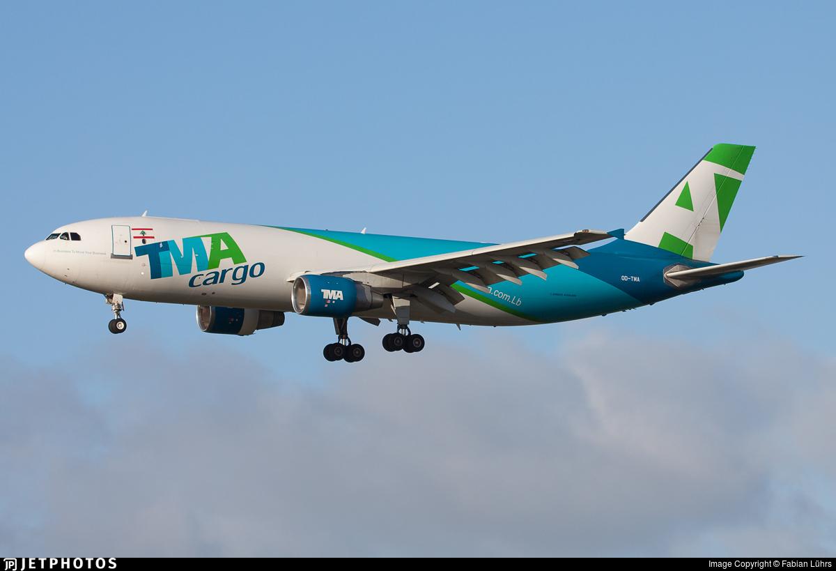OD-TMA - Airbus A300F4-622R - Trans Mediterranean Airways (TMA)