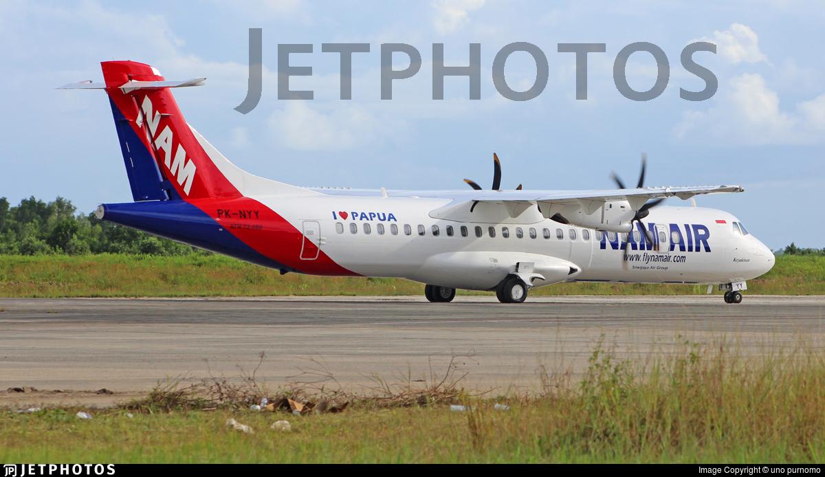 PK-NYY | ATR 72-212A(600) | NAM Air | uno purnomo | JetPhotos