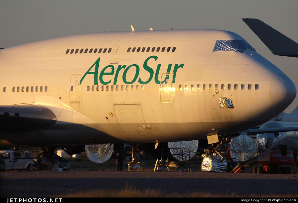 N971PG - Boeing 747-475 - AeroSur