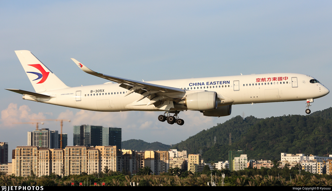 B-305X - Airbus A350-941 - China Eastern Airlines