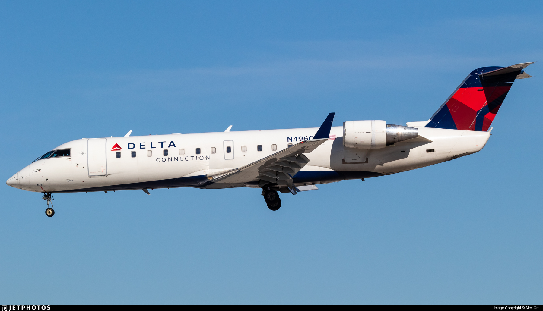 N496CA - Bombardier CRJ-200ER - Delta Connection (SkyWest Airlines)