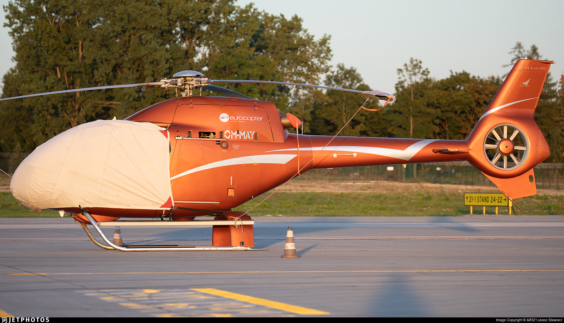 OM-MAY - Eurocopter EC 120B Colibri - Private
