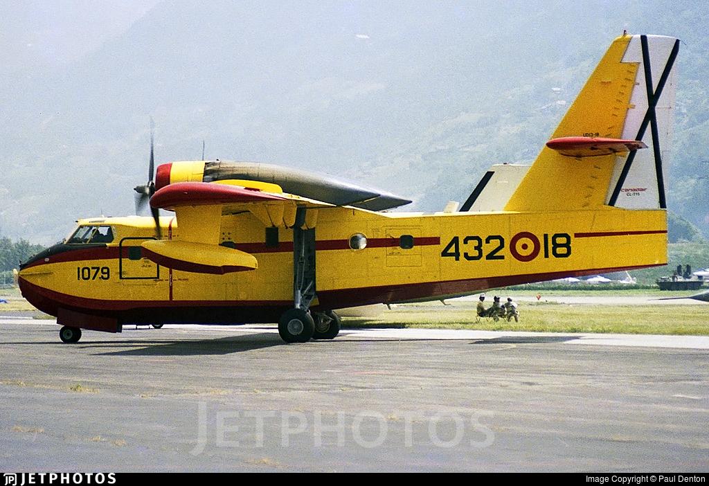 UD.13-18 - Canadair CL-215 - Spain - Air Force