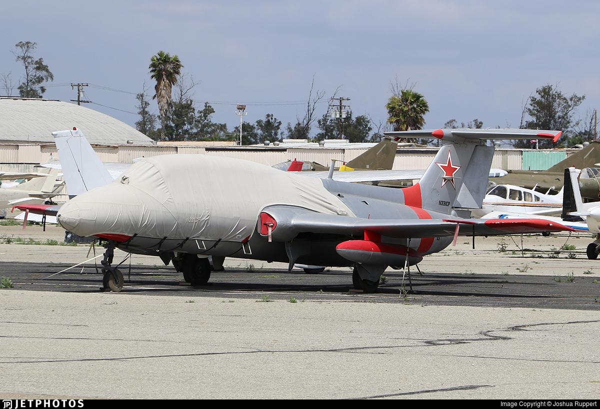 N331CP - Aero L-29 Delfin - Private