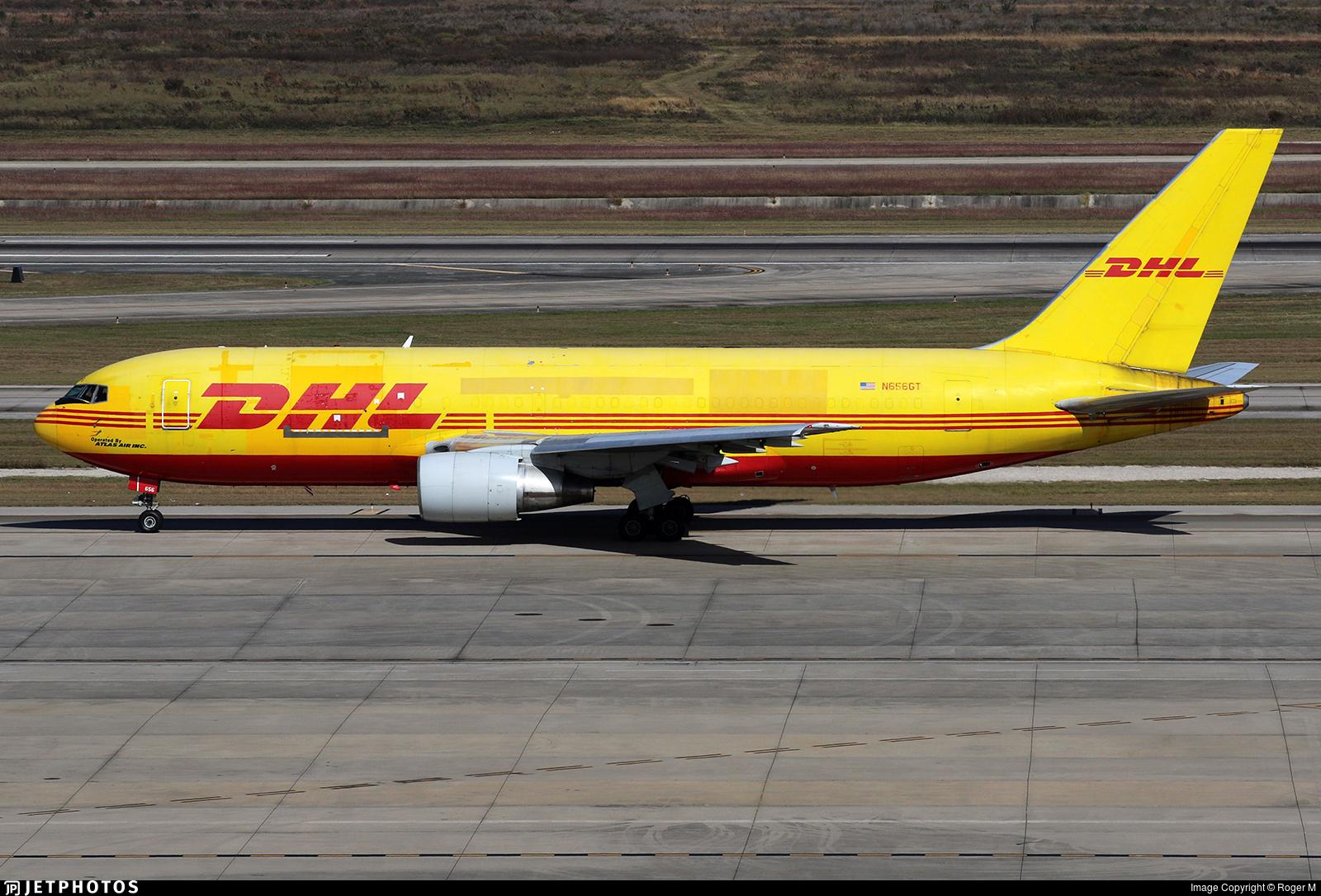 N656GT - Boeing 767-281(BDSF) - DHL (Atlas Air)