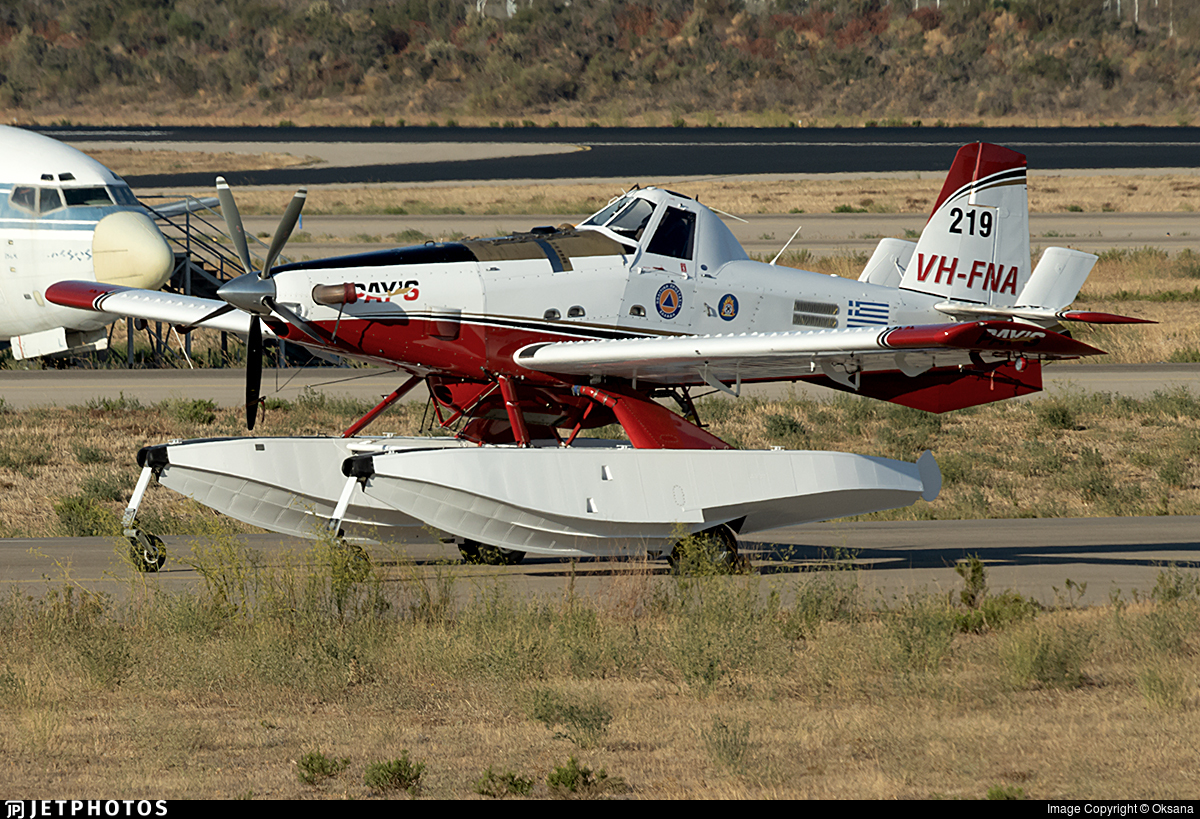 VH-FNA - Air Tractor AT-802A Fire Boss - Pay's Air Service