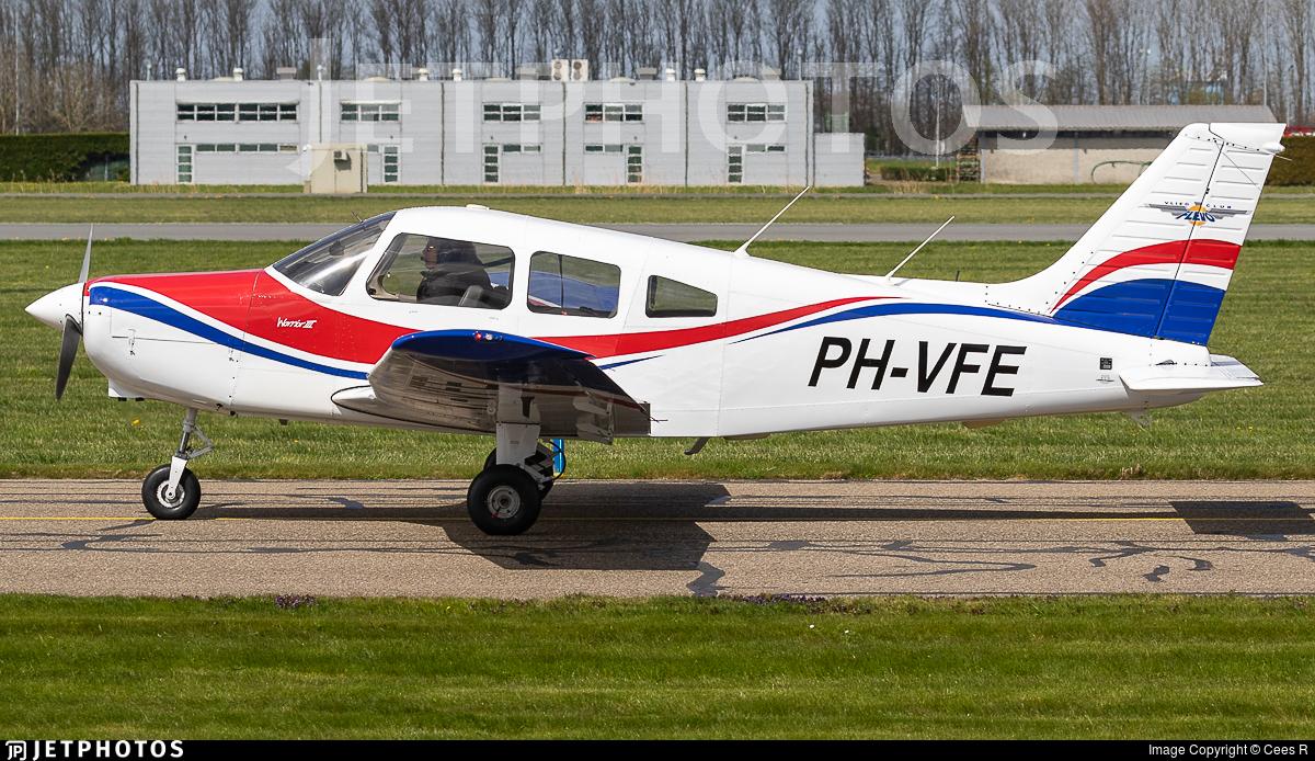 PH-VFE - Piper PA-28-161 Warrior III - Vliegclub Flevo
