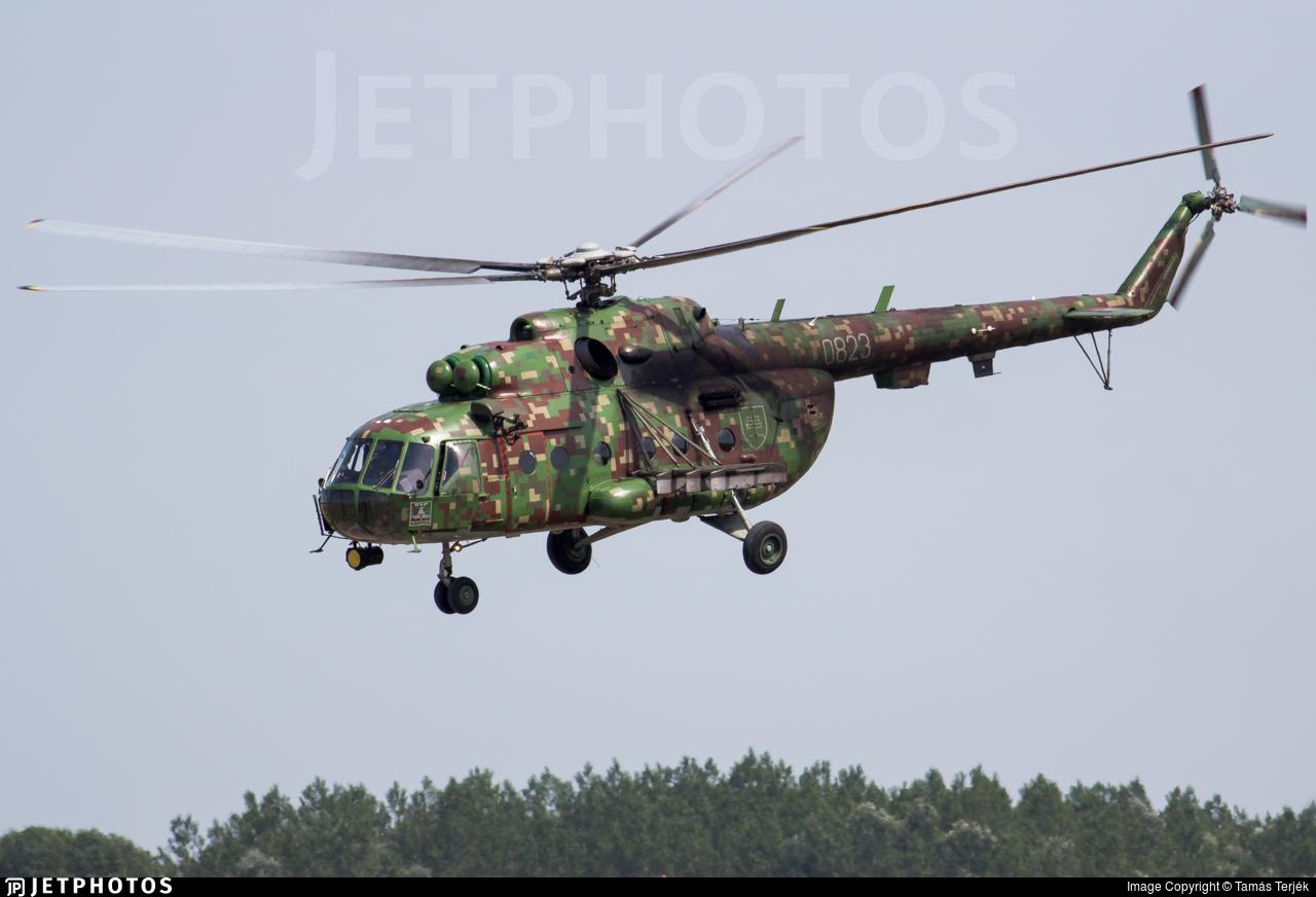 0823 - Mil Mi-17 Hip - Slovakia - Air Force