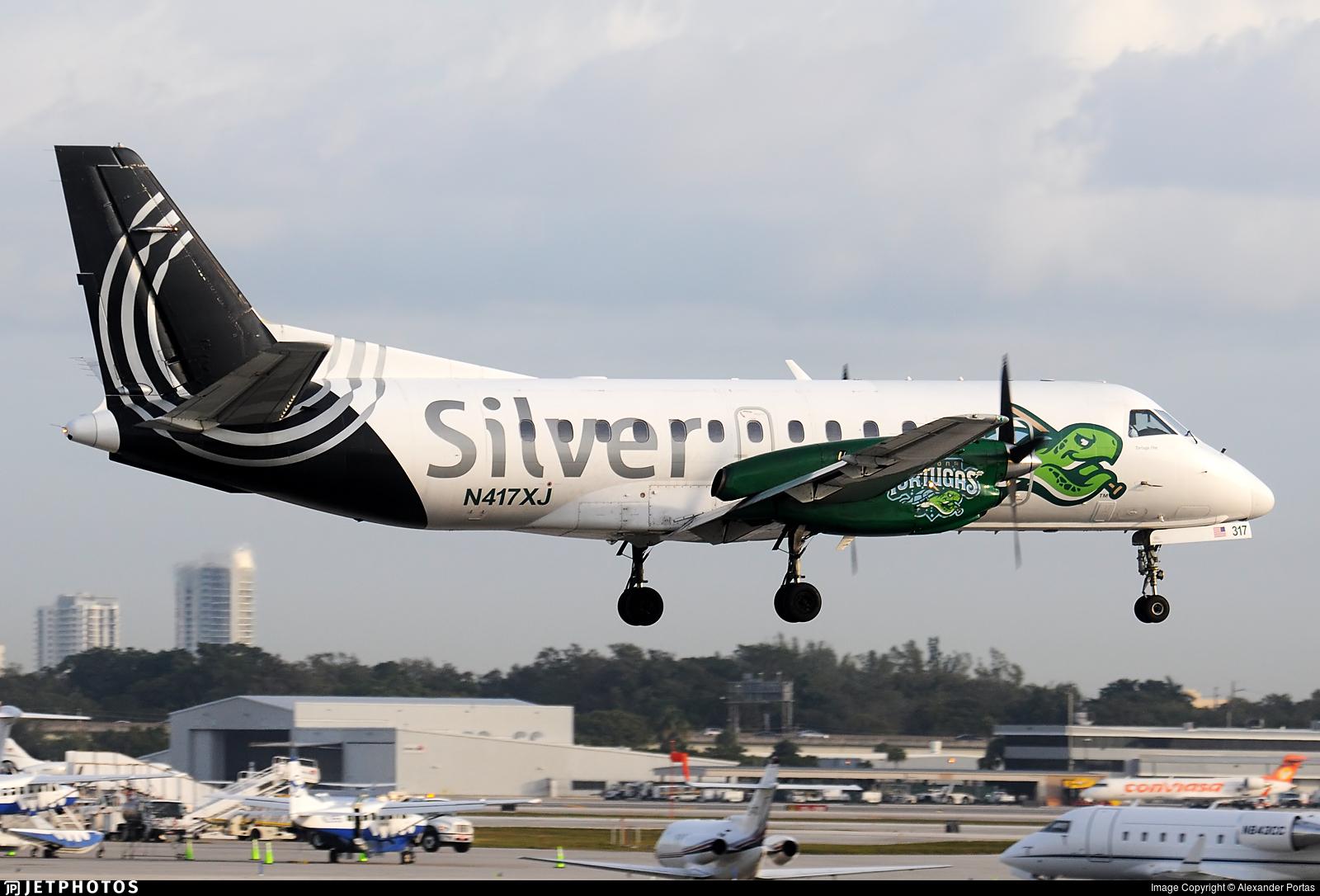 N417XJ - Saab 340B+ - Silver Airways