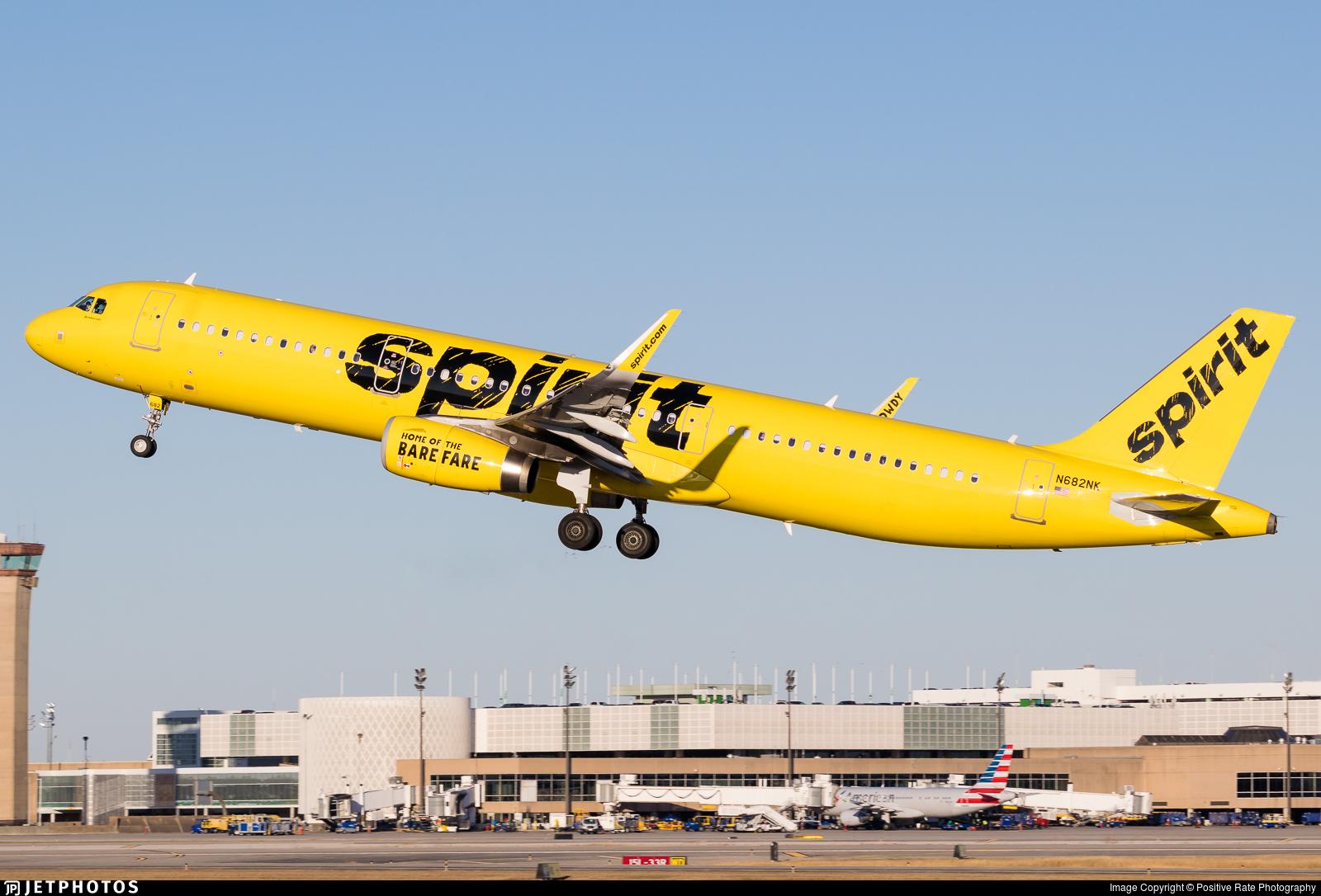 N682NK - Airbus A321-231 - Spirit Airlines