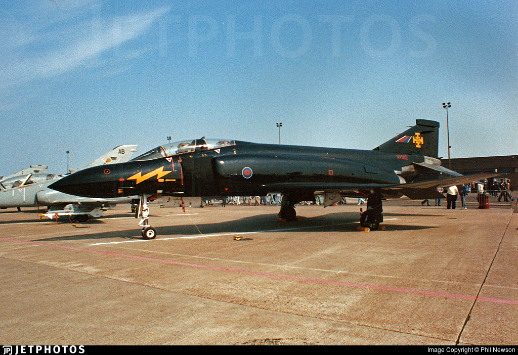 XV582 - McDonnell Douglas Phantom FG.1 - United Kingdom - Royal Air Force (RAF)