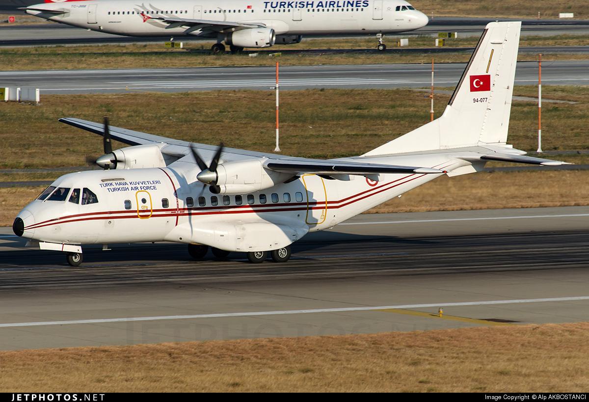 94-077 - CASA CN-235-100M - Turkey - Air Force