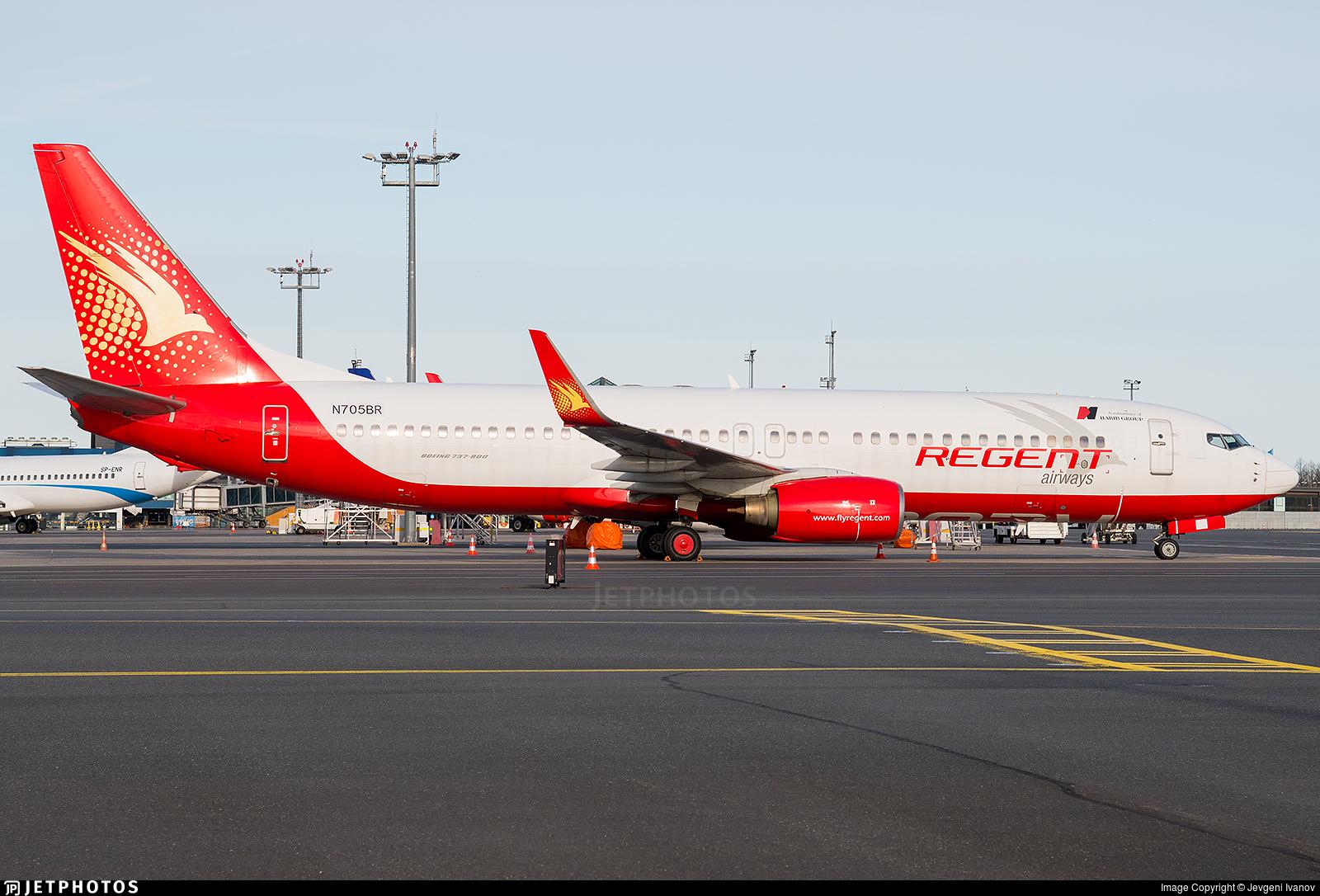 N705BR - Boeing 737-8Q8 - Regent Airways