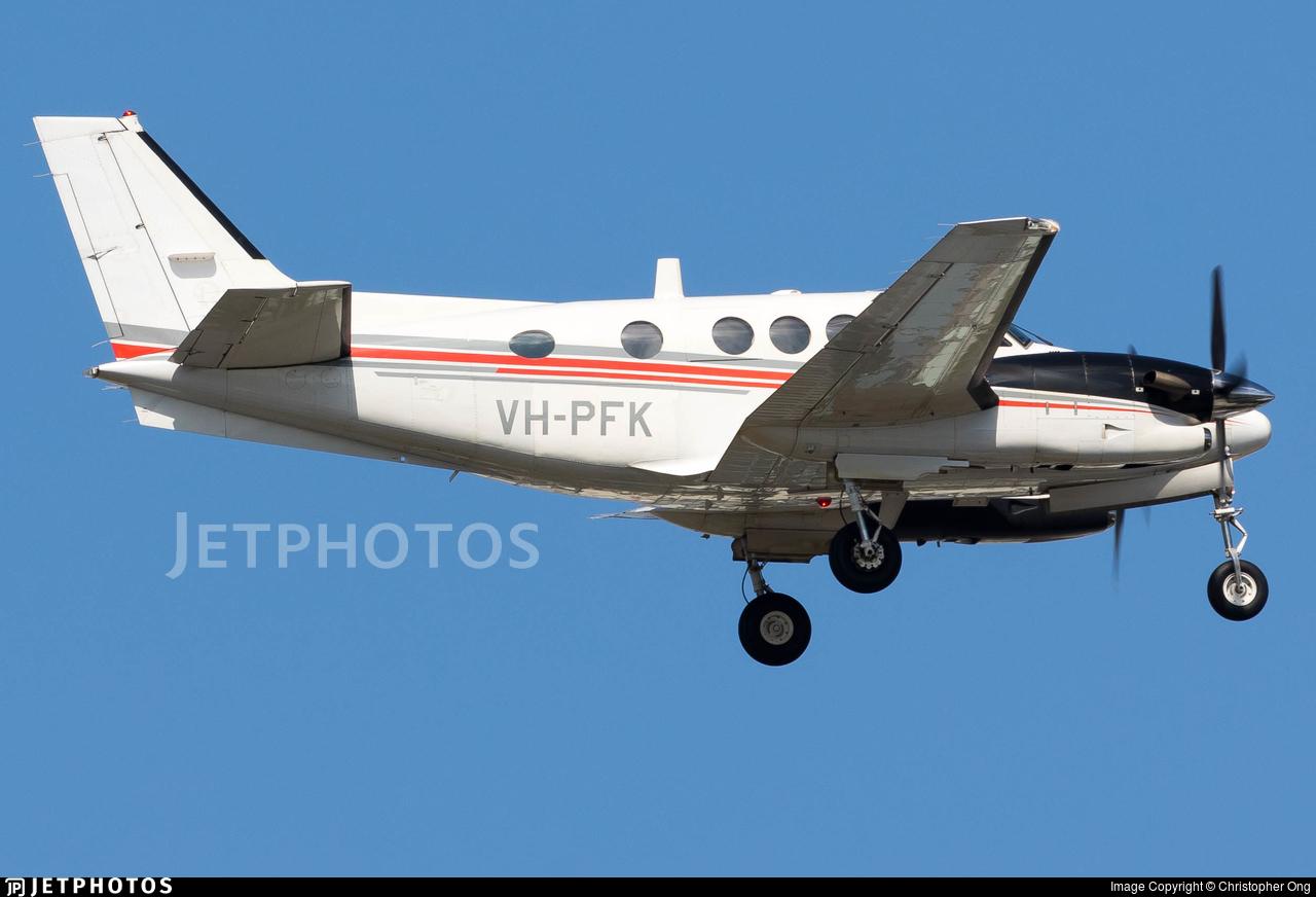 VH-PFK - Beechcraft C90GTi King Air - Private