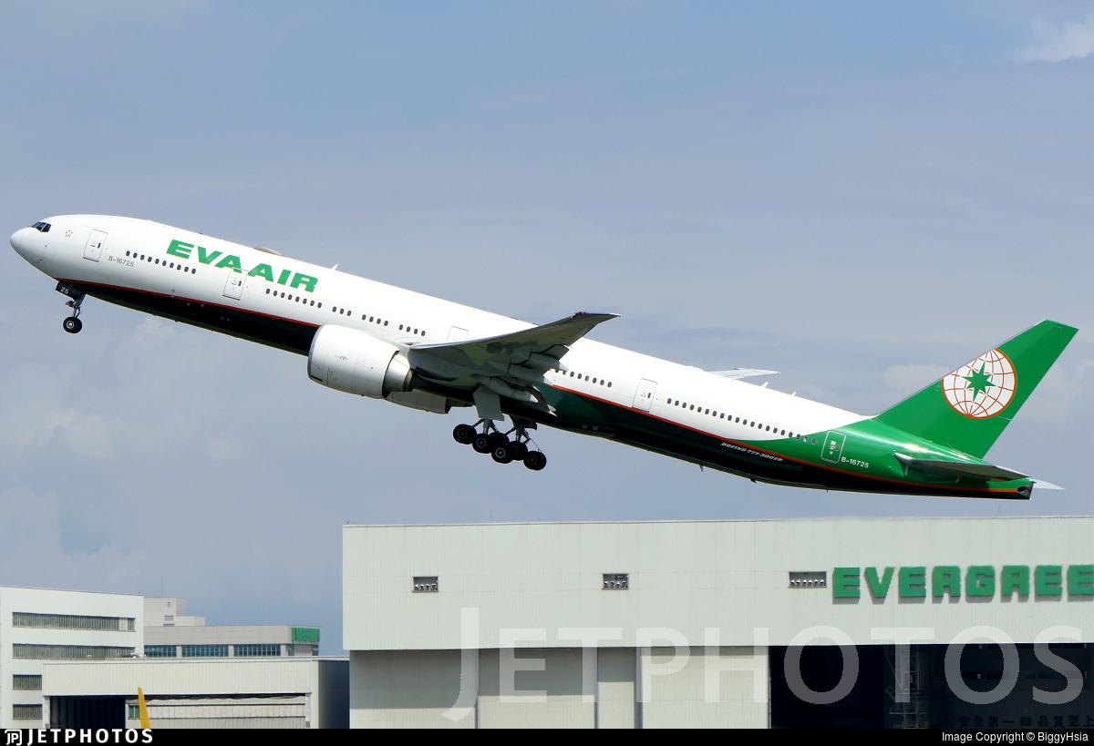 B-16725 - Boeing 777-35EER - Eva Air