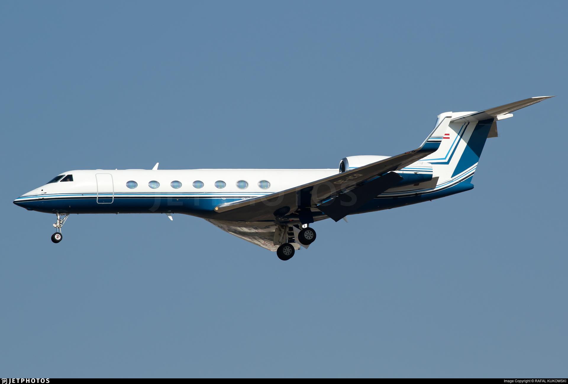 OE-ICQ   Gulfstream G550   Avcon Jet   RAFAL KUKOWSKI