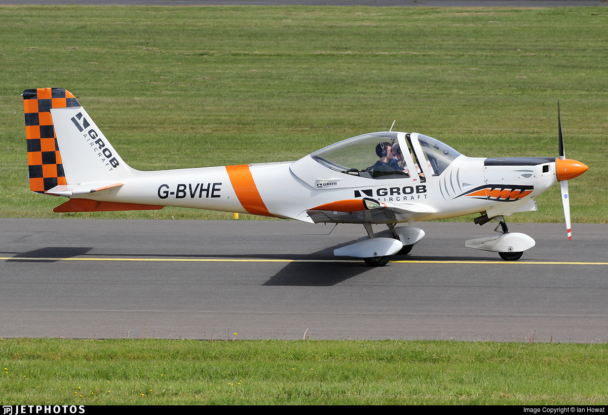 G-BVHE - Grob G115D - Tayside Aviation