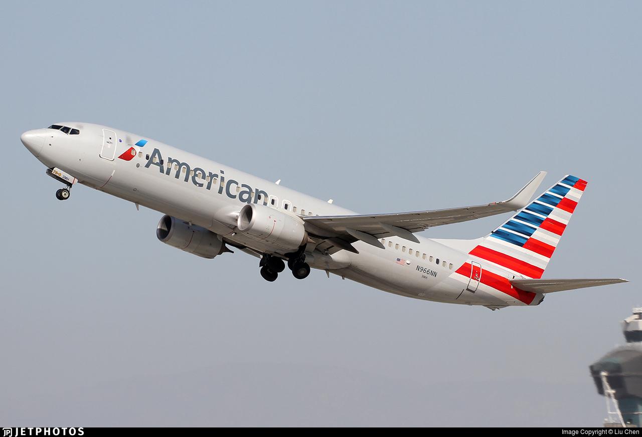 N966NN - Boeing 737-823 - American Airlines