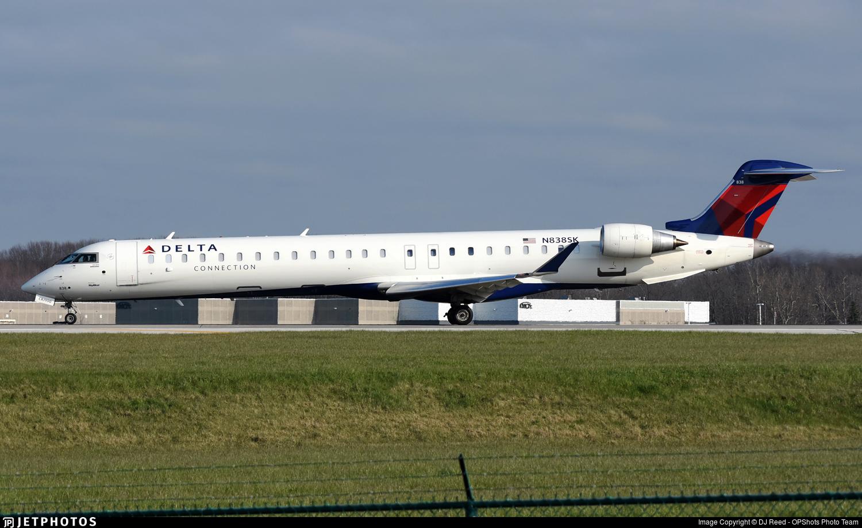N838SK - Bombardier CRJ-900LR - Delta Connection (SkyWest Airlines)