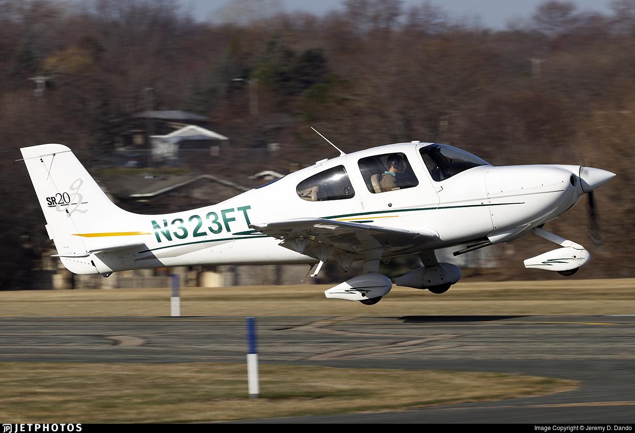 N323FT - Cirrus SR20-G2 - Private