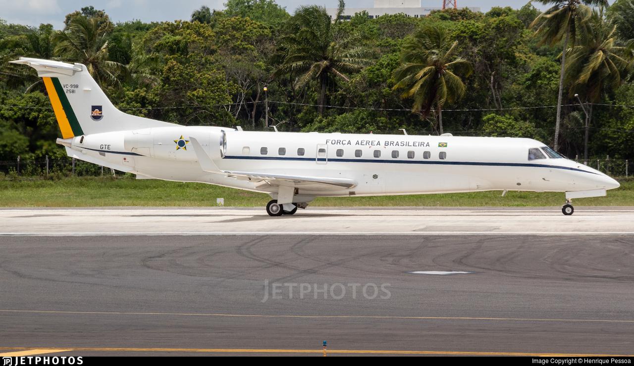 FAB2581 - Embraer VC-99B - Brazil - Air Force