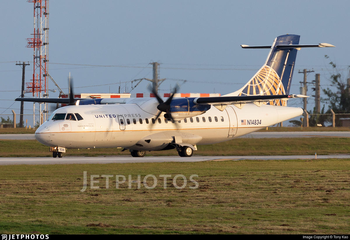 N14834 - ATR 42-320 - United Express(Cape Air)