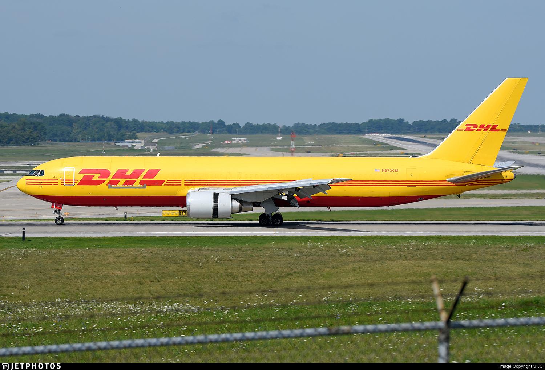 N372CM | Boeing 767-338(ER)(BDSF) | DHL (ABX Air) | JC