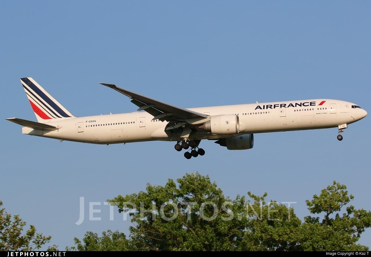 F-GSQG - Boeing 777-328ER - Air France