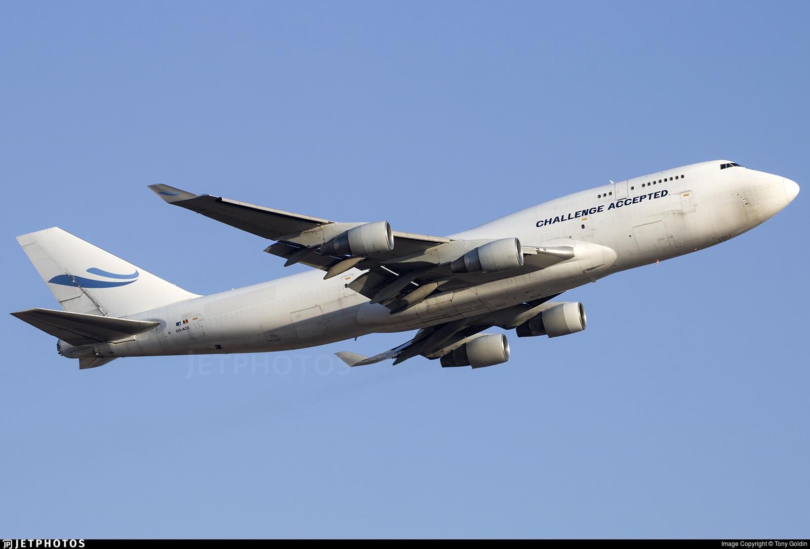 OO-ACE - Boeing 747-412(BCF) - ACE Belgium