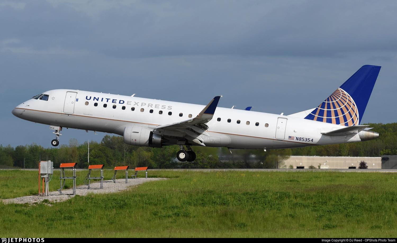 N85354 - Embraer 170-200LR - United Express (Mesa Airlines)