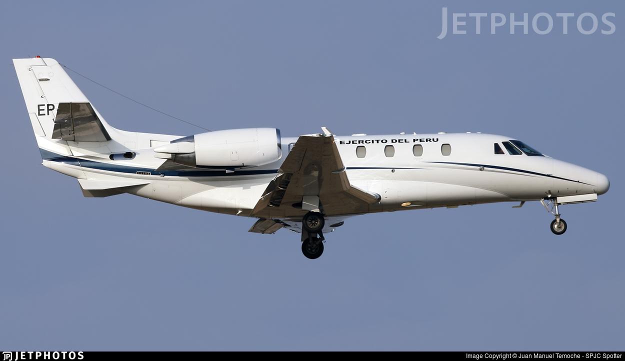 EP-861 - Cessna 560XL Citation XLS - Perú - Army