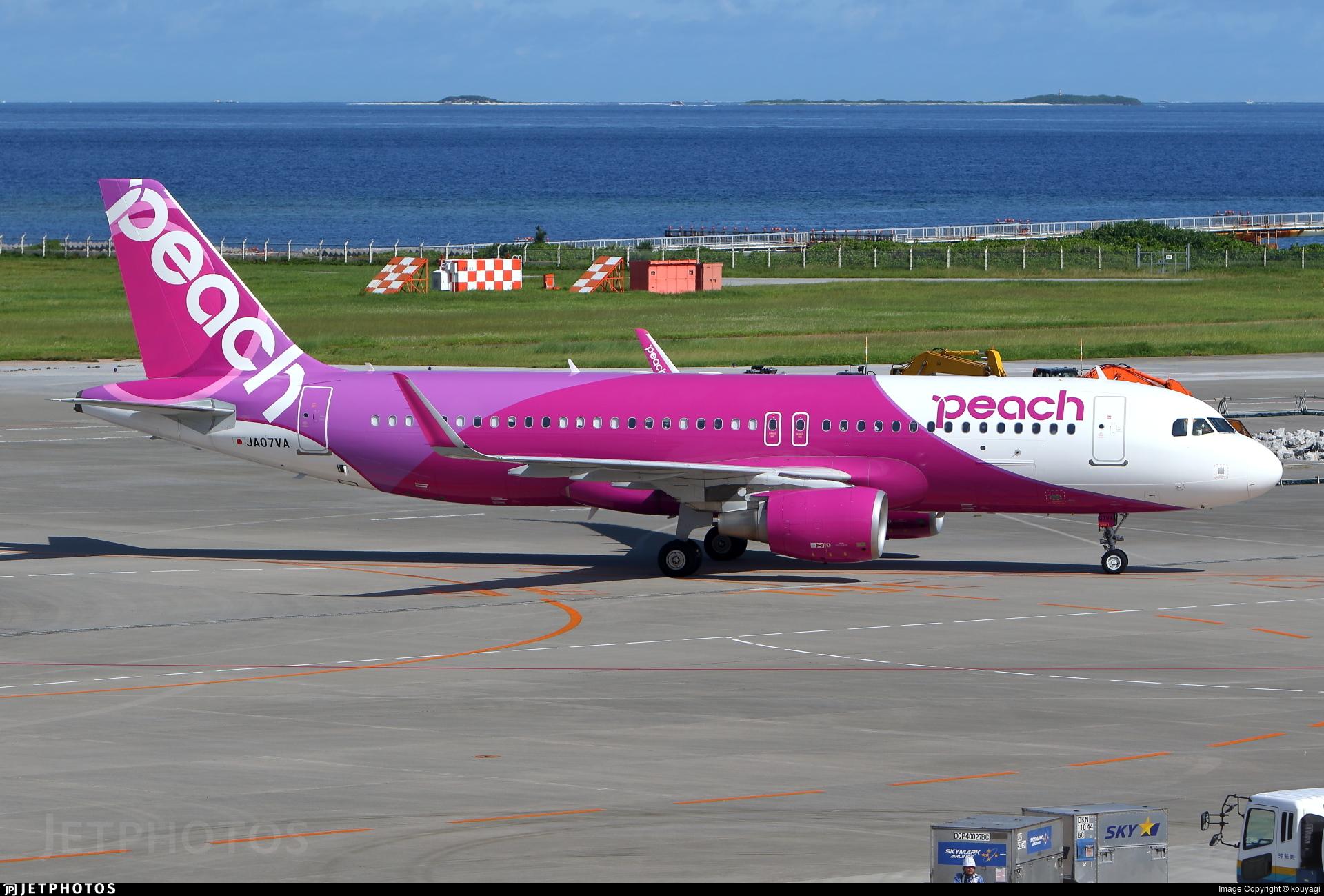 JA07VA - Airbus A320-214 - Peach Aviation