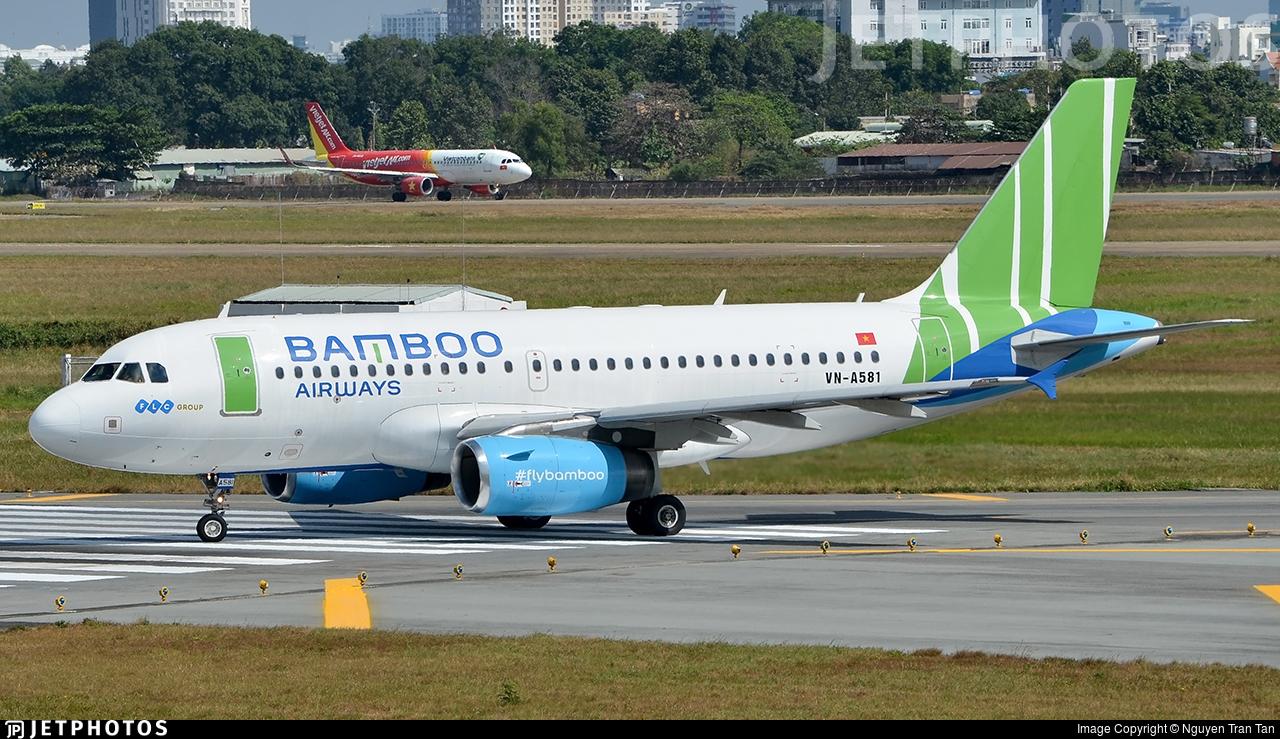 VN-A581 - Airbus A319-132 - Bamboo Airways