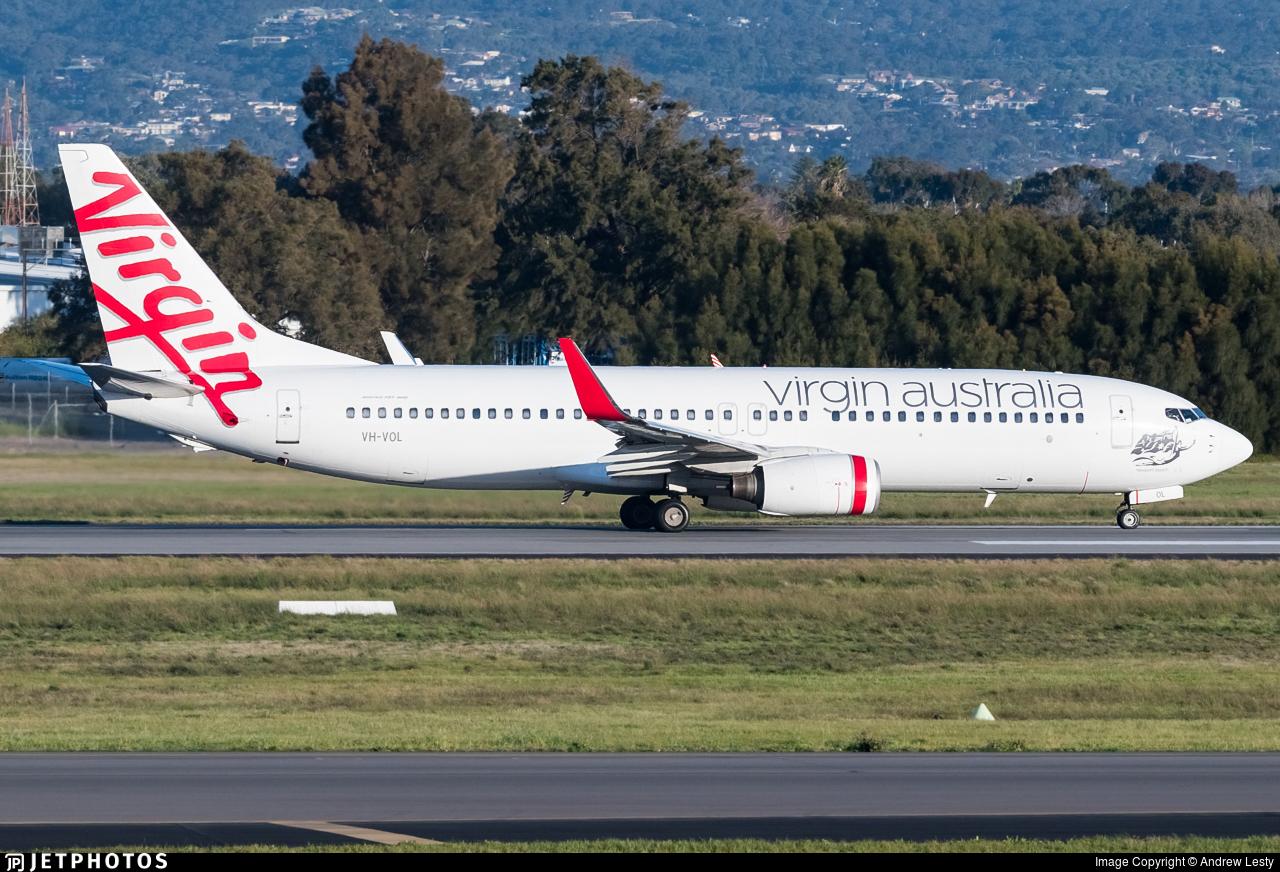 VH-VOL - Boeing 737-8FE - Virgin Australia Airlines