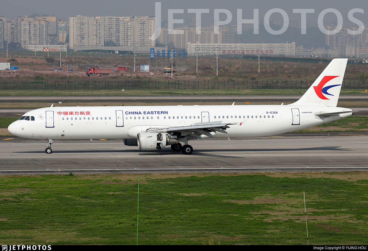 B-6368 - Airbus A321-211 - China Eastern Airlines