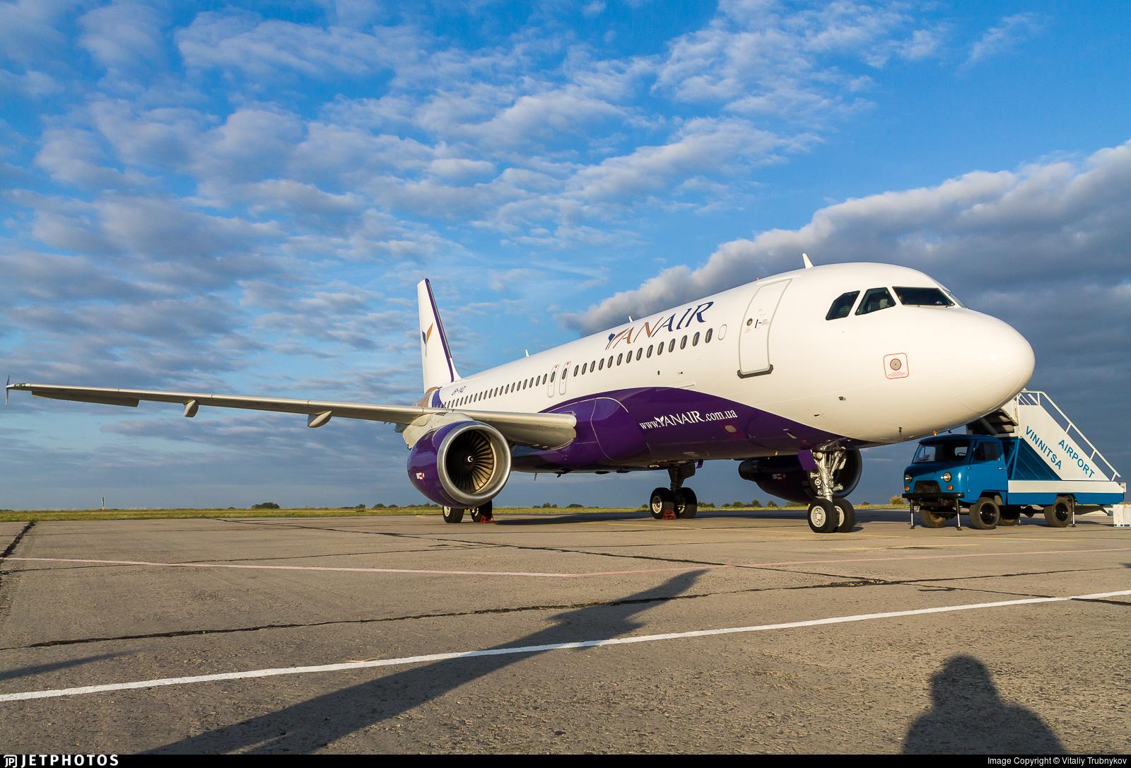 UR-YAD - Airbus A320-211 - YanAir