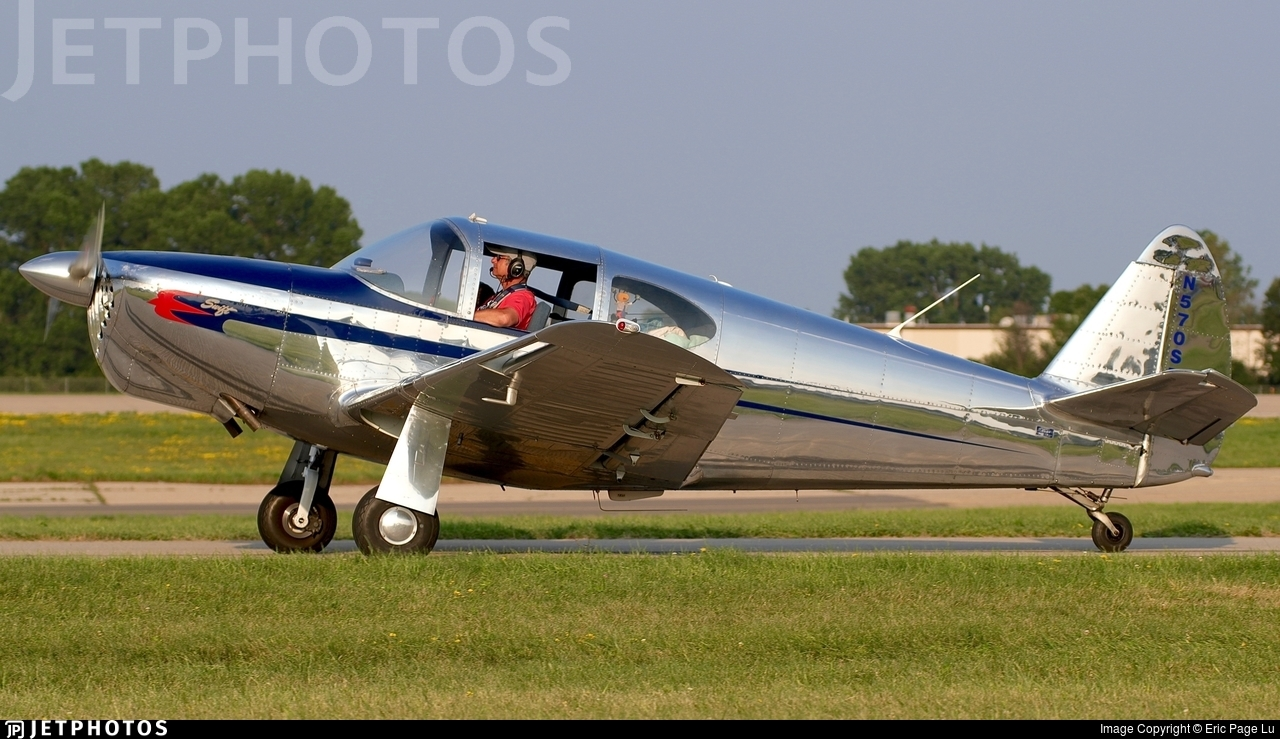 N570SR | Globe GC-1B Swift | Private | Eric Page Lu | JetPhotos