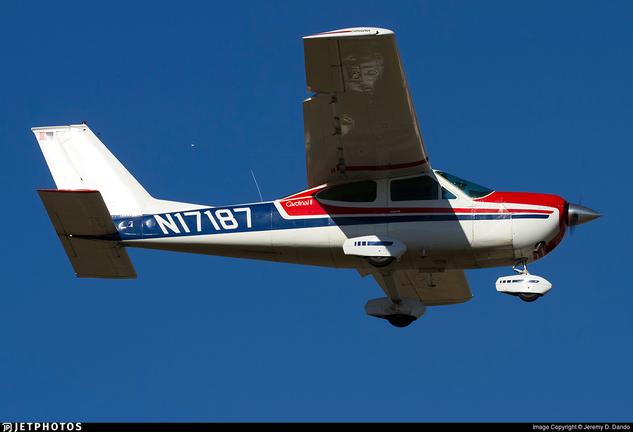 N17187 - Cessna 177B Cardinal II - Private