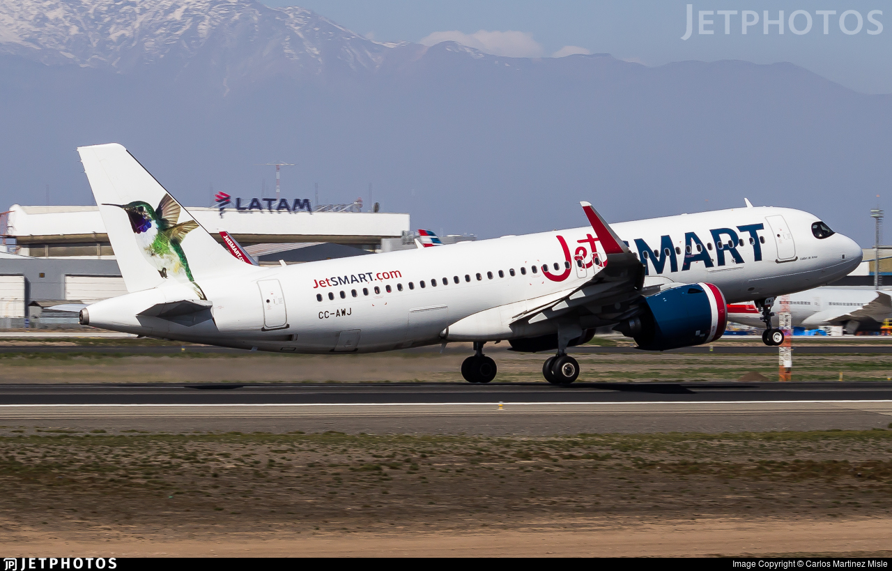 CC-AWJ - Airbus A320-271N - JetSmart