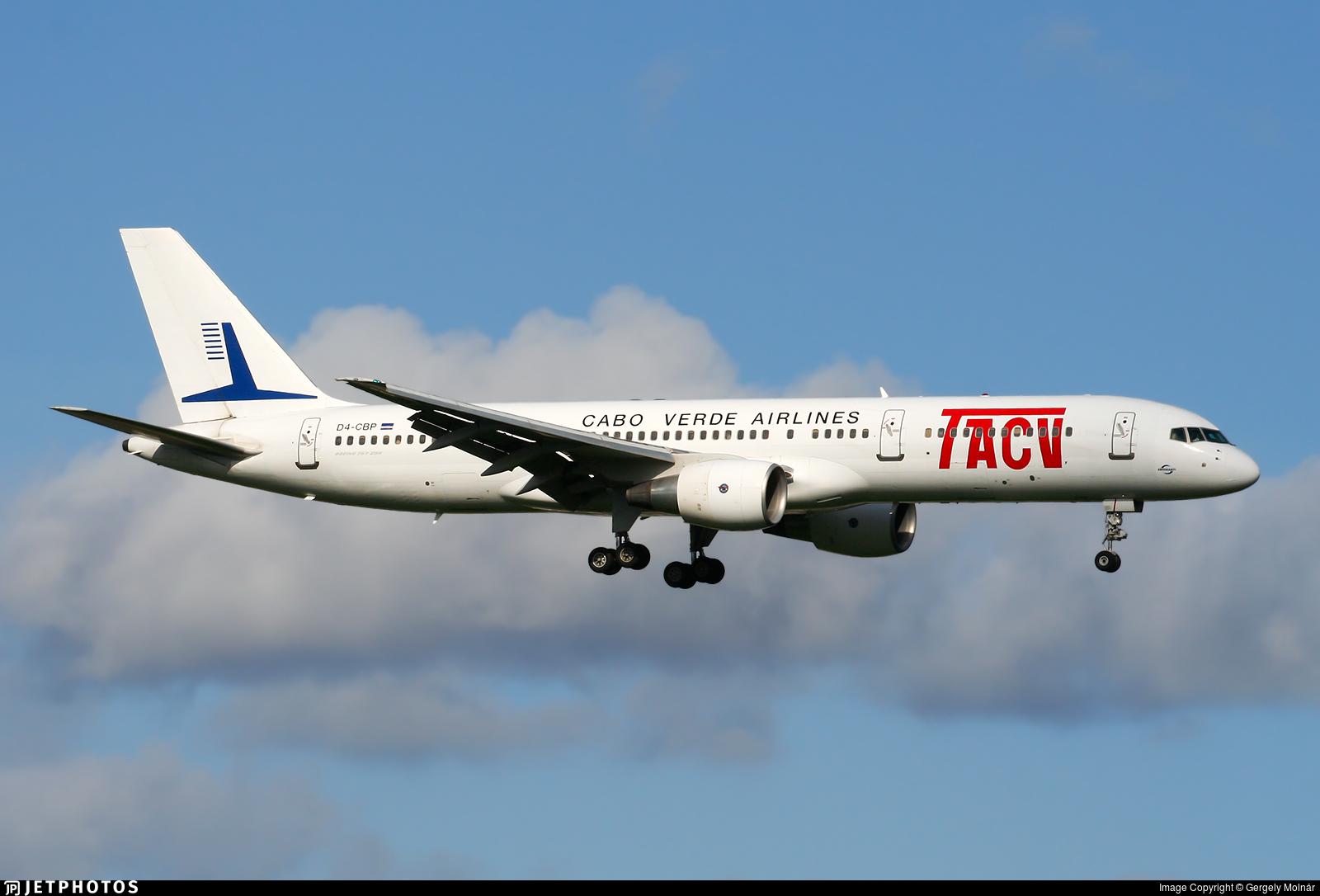 D4-CBP - Boeing 757-2Q8 - TACV Cabo Verde Airlines
