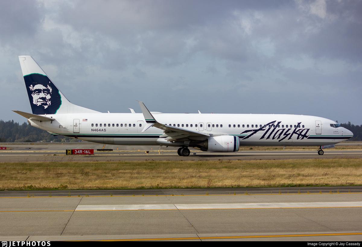 N464AS - Boeing 737-990ER - Alaska Airlines