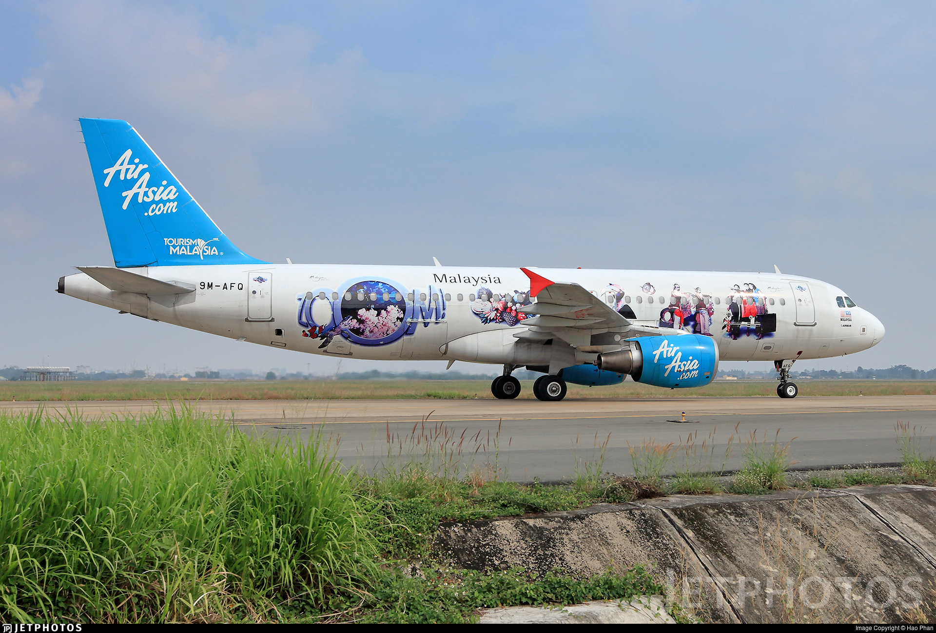 9M-AFQ - Airbus A320-216 - AirAsia