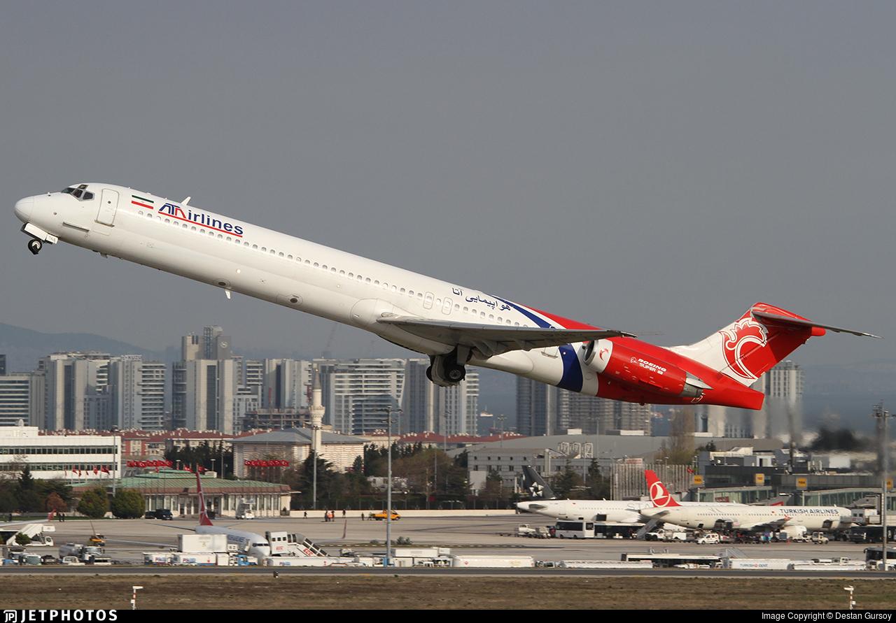 EP-TAS - McDonnell Douglas MD-83 - ATA Airlines [Iran]