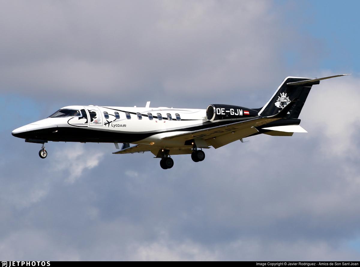OE-GJW - Bombardier Learjet 75 - LycoAir
