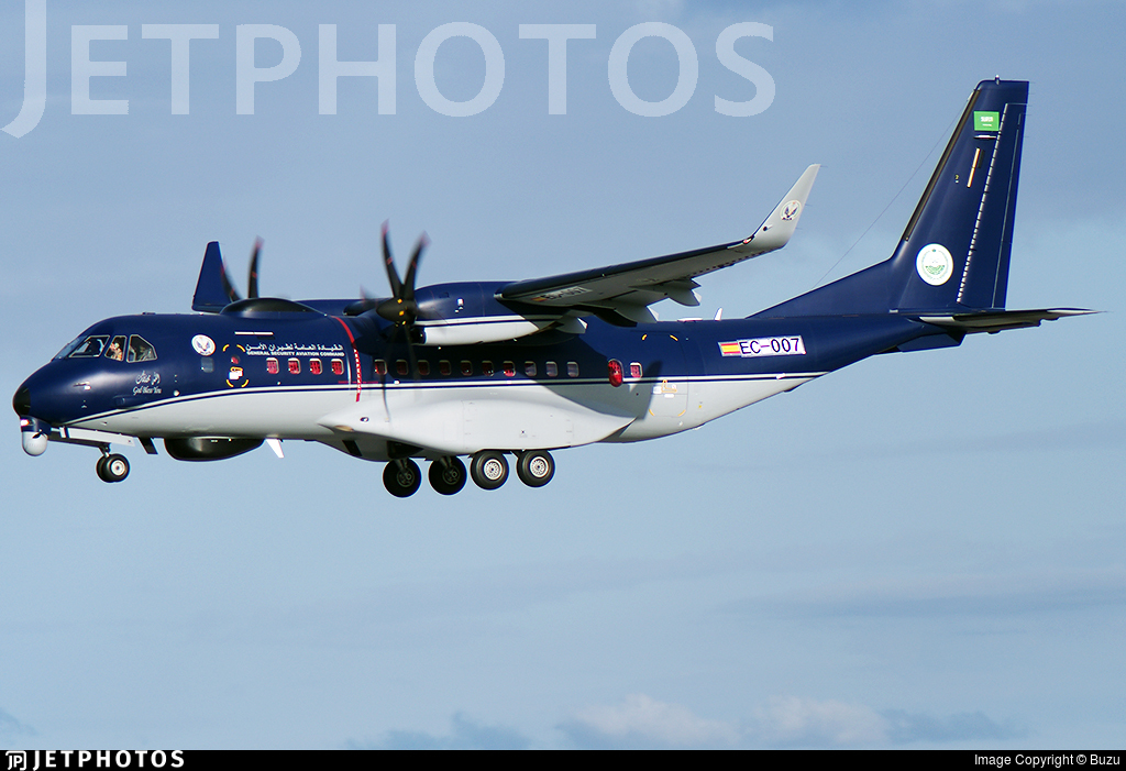 EC-007 - Airbus C295W ASW Persuader - Saudi Arabia - Ministry Of Interior